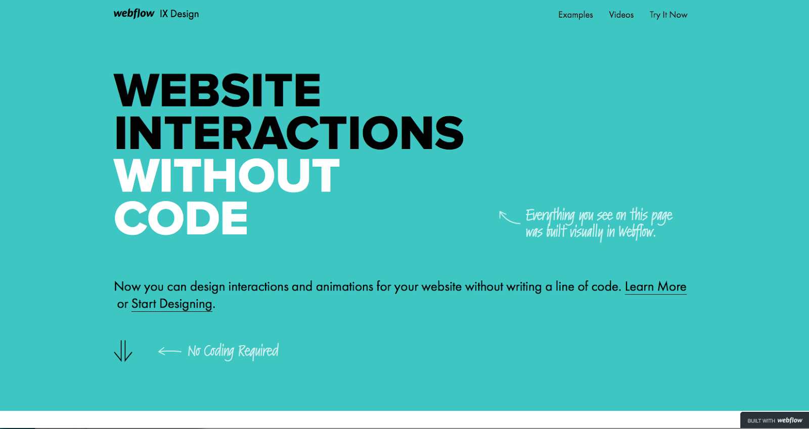 9 landing page design tips that improve UX and conversions | Webflow ...