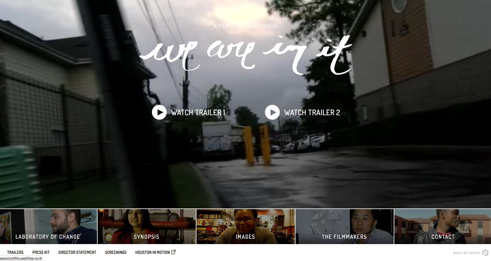 We Are In It documentary film website