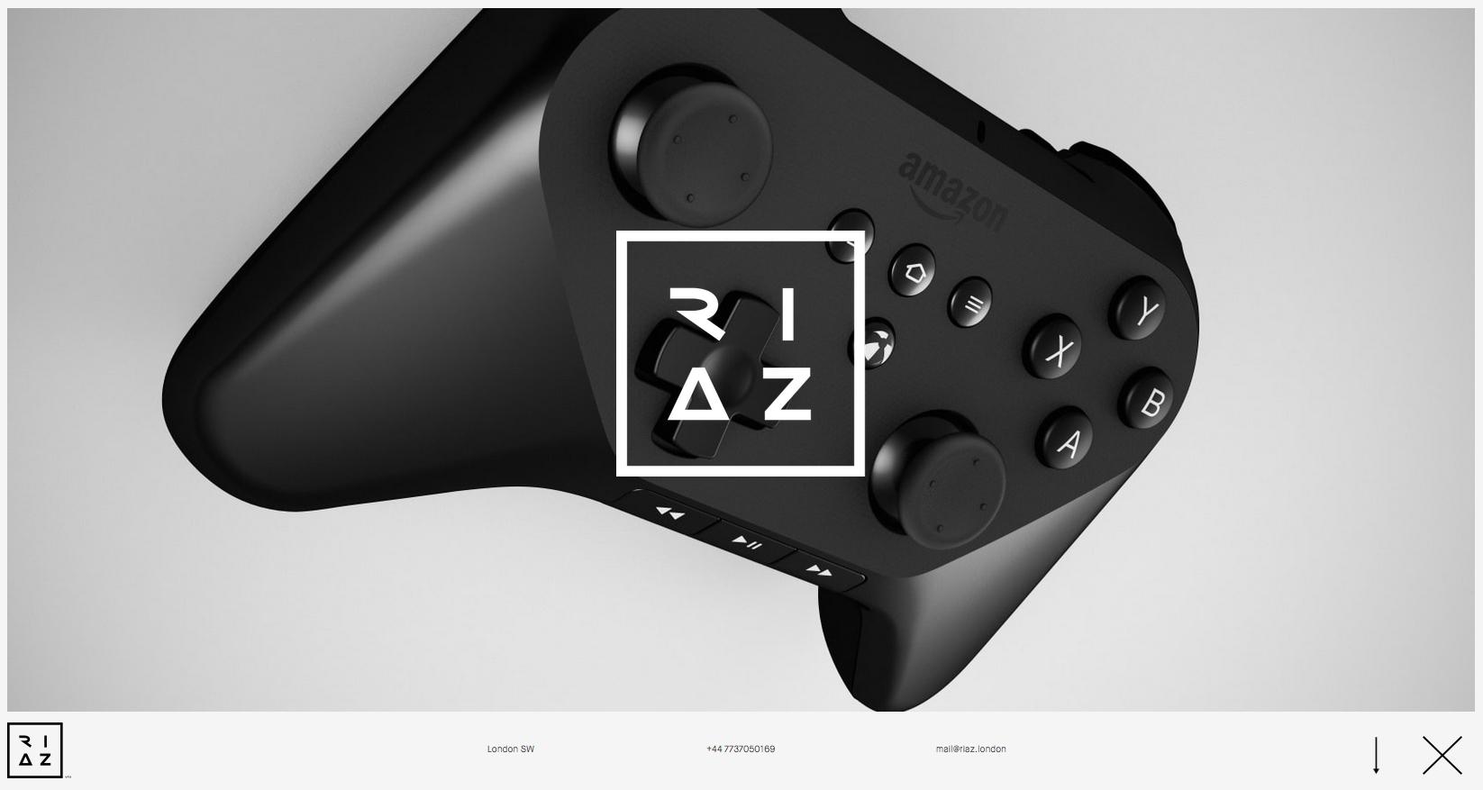 Riaz Farooq's portfolio website