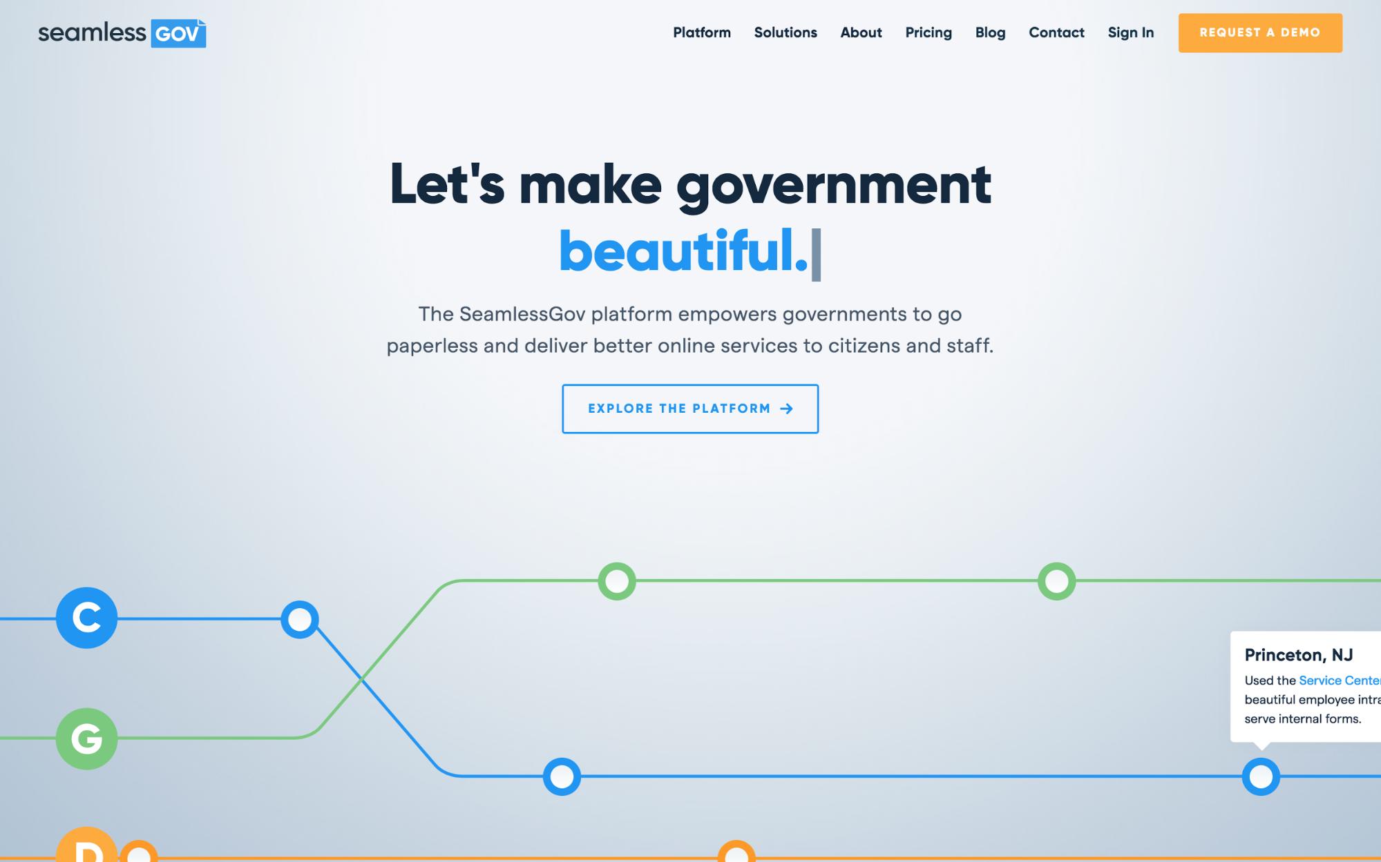 SeamlessGov's homepage