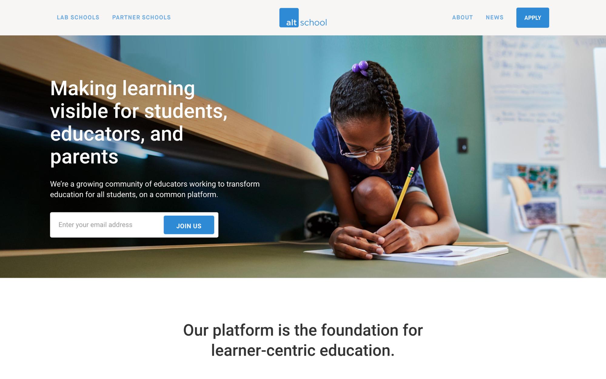 altschool homepage