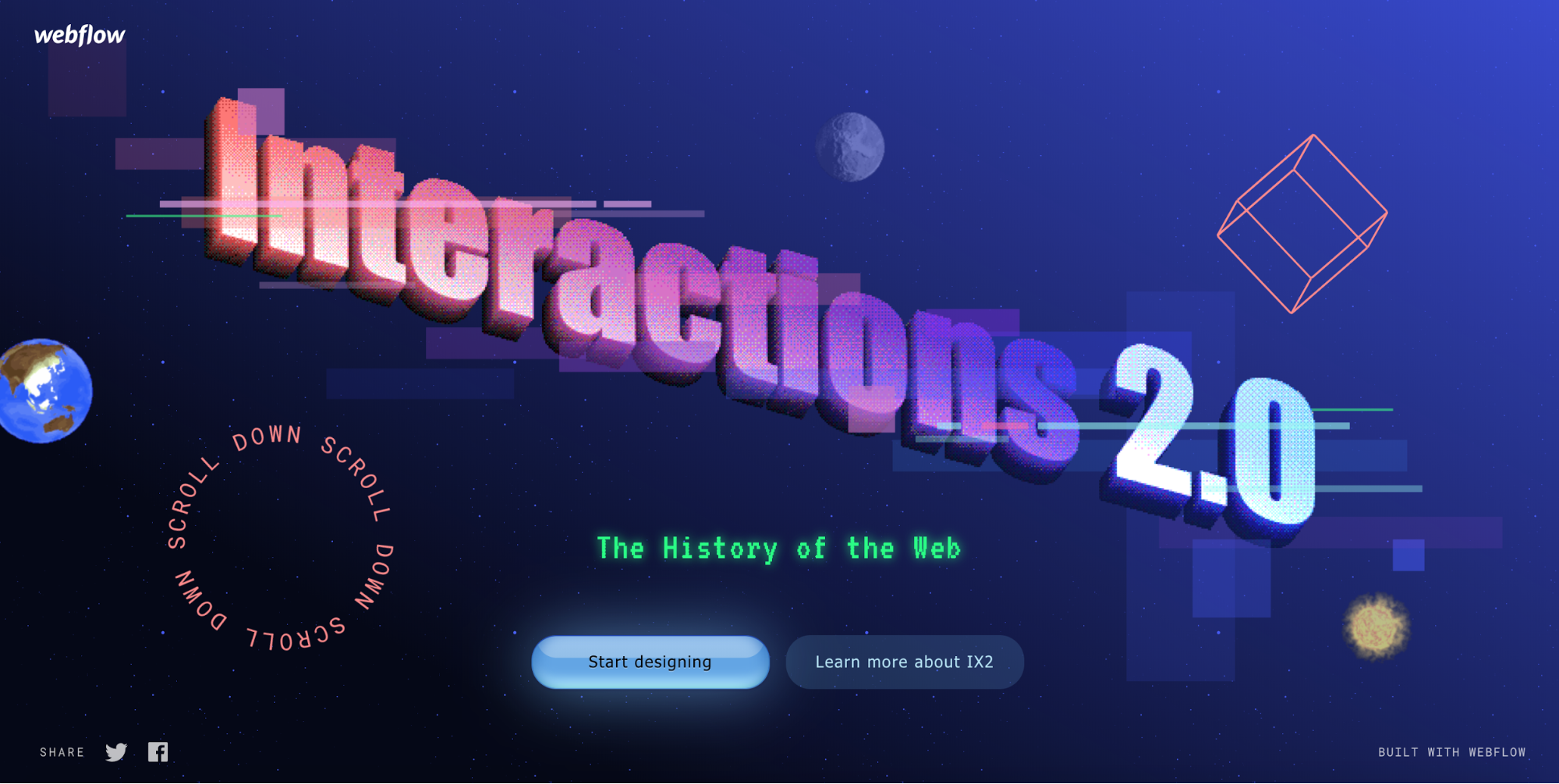 Interactions 2.0 history of the web