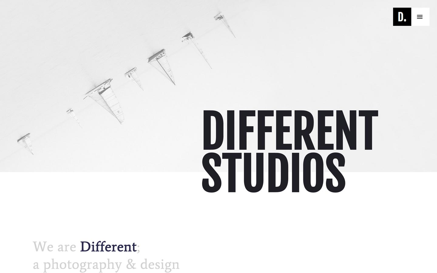 Different Studios – Photography Website Template