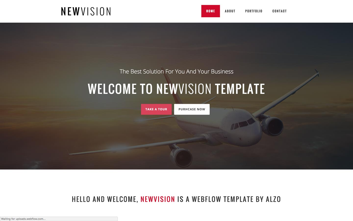 NewVision – Agency Website Template