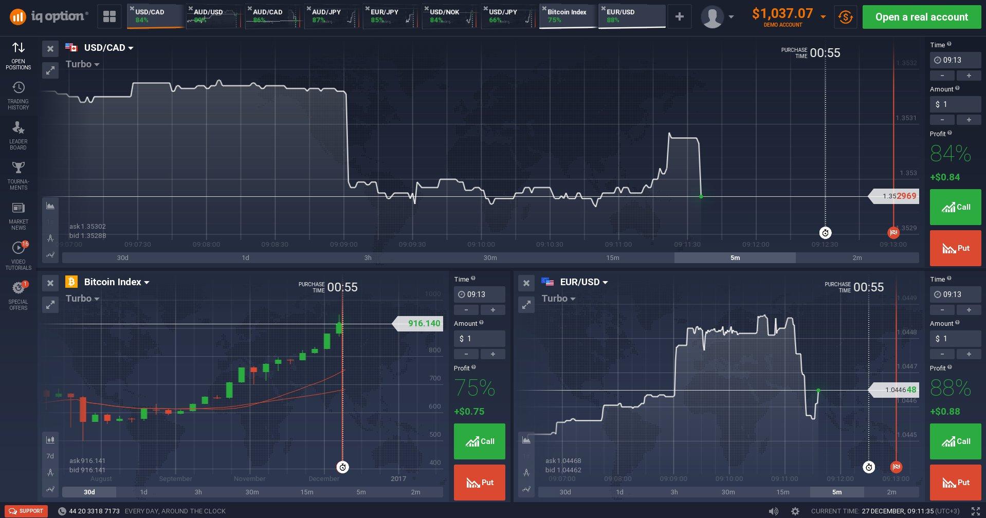 Top 4 binary trading platforms (and real screenshots)   BBOcoza