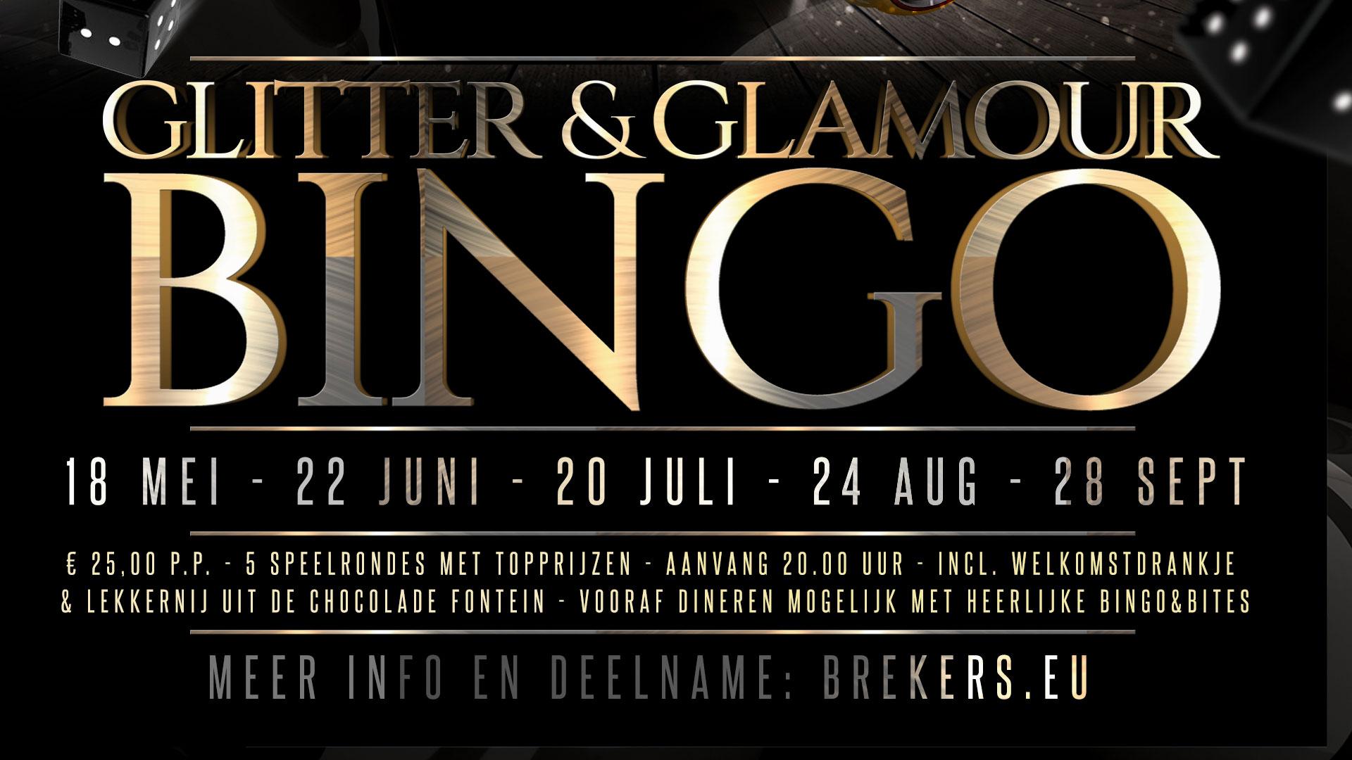 Glitter & Glamour Bingo 21 september