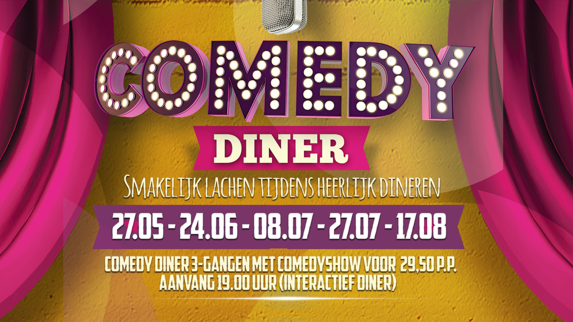 Comedy Diner 27 mei, Bij Brekers