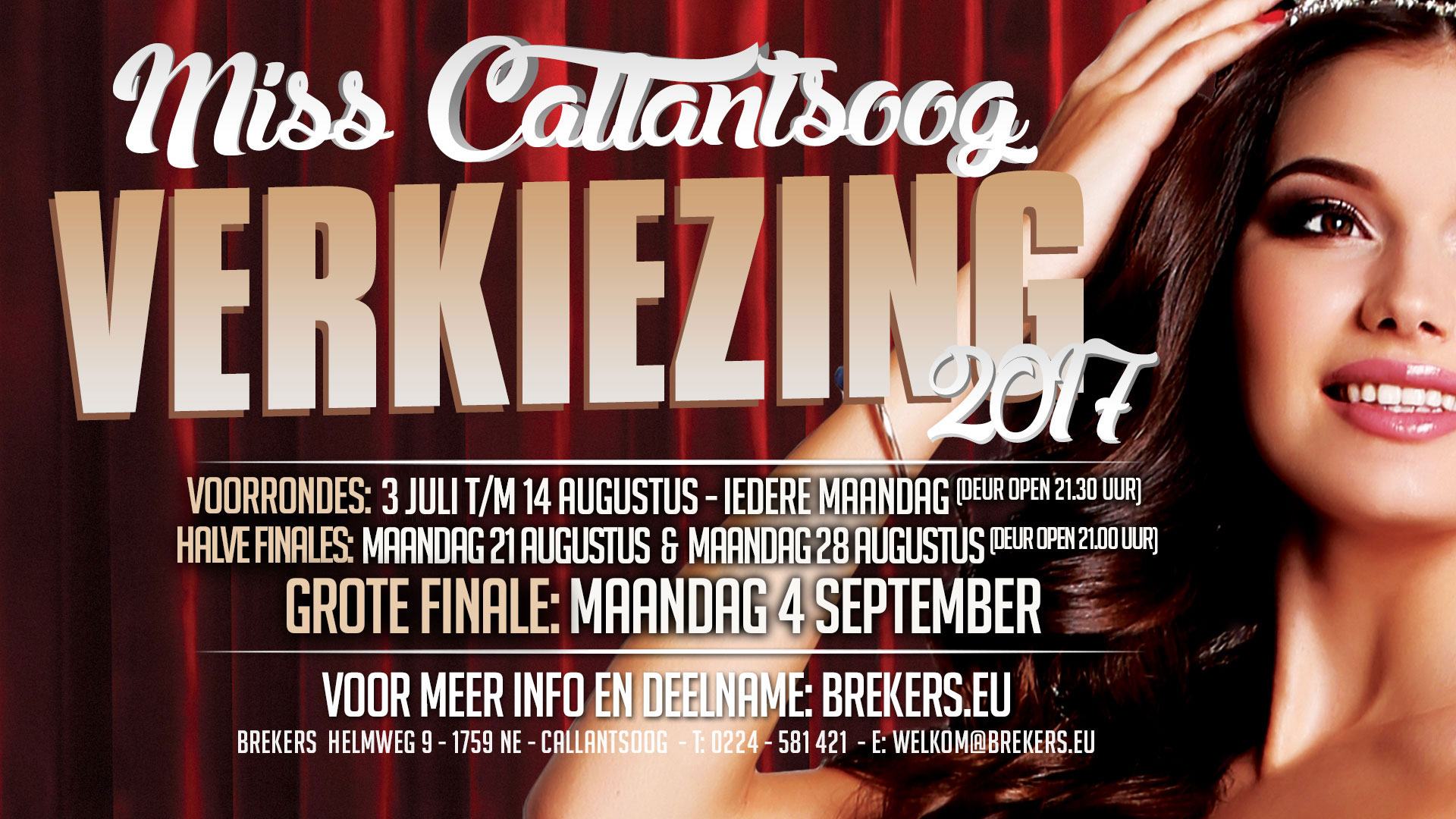 Miss Callantsoog Verkiezing