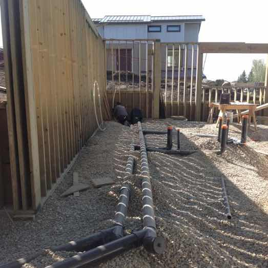 Receive one-on-one advice for your new construction plumbing.