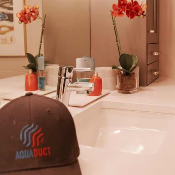 Free estimates on your residential plumbing services.