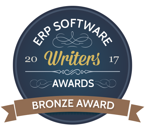 ERP Software Writers Awards 2017