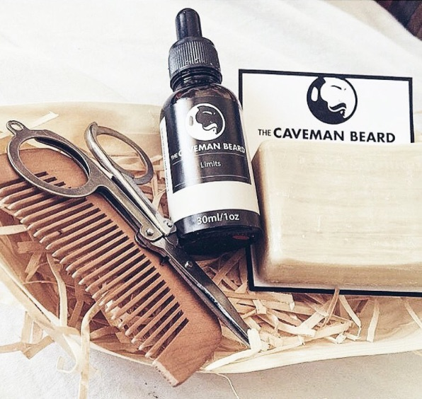 The Caveman Beard grooming set