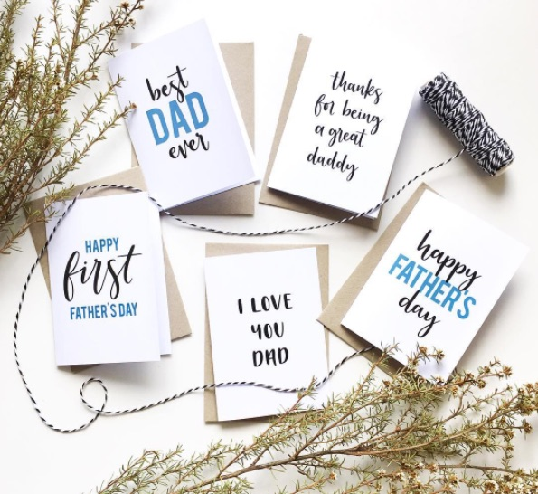 Jessica Ryker Father's Day cards