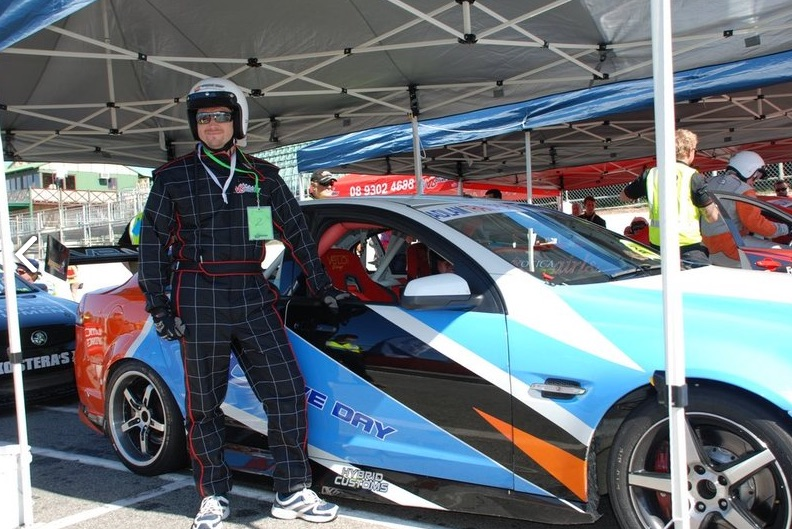V8 driving experience