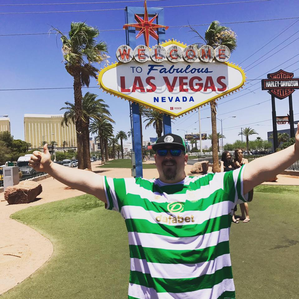 Celtic Fan in Las Vegas