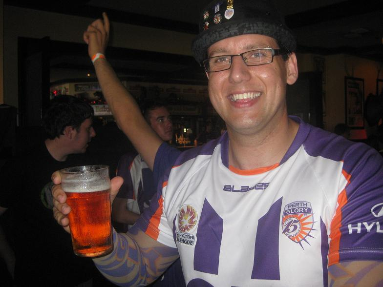 Perth Glory fan