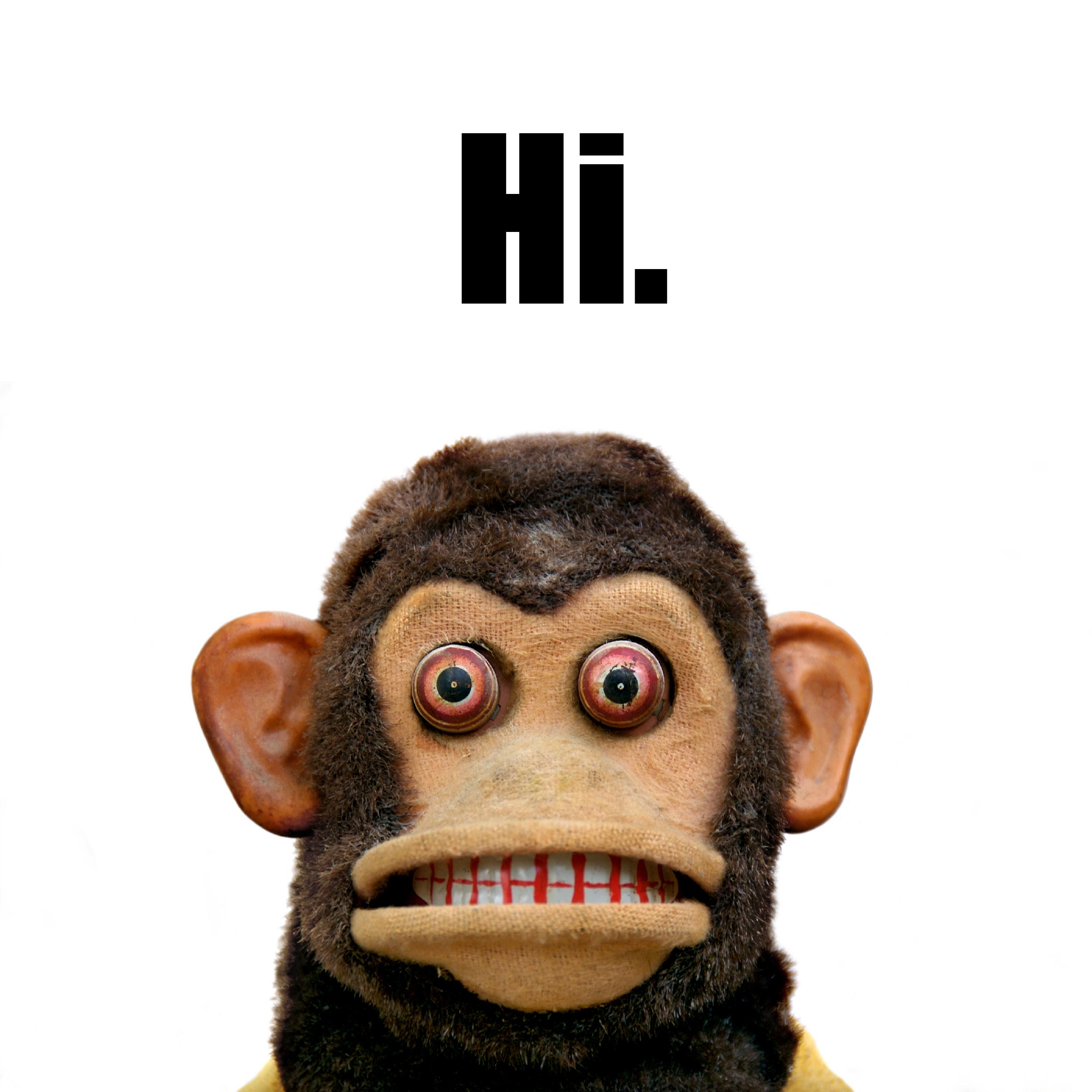 hi musical jolly chimp