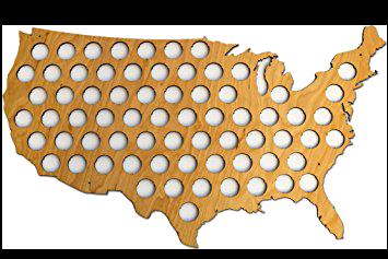 50 state cap map