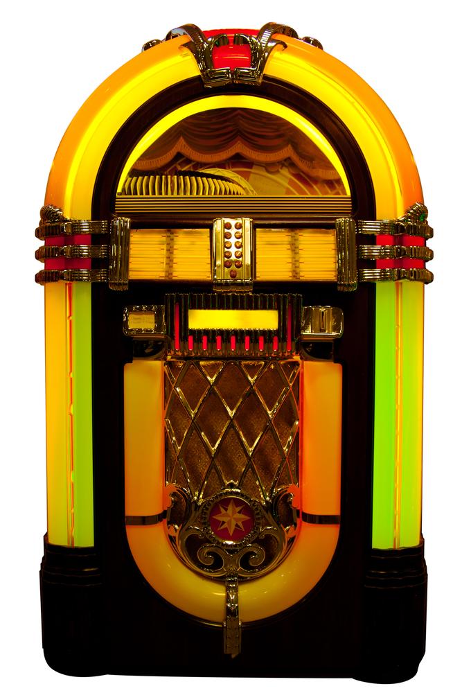 old school jukebox