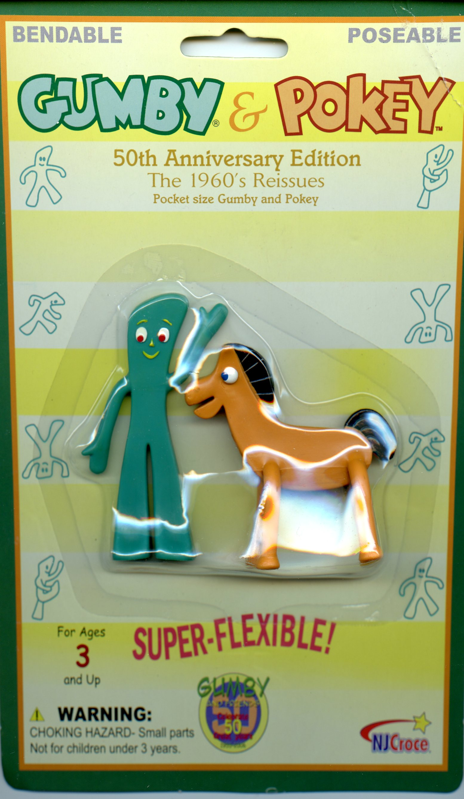 Gumby and Pokey 50th anniversary edition boxing