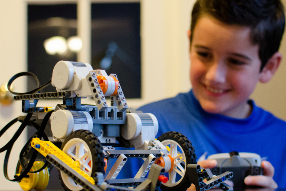 Legos and robotics