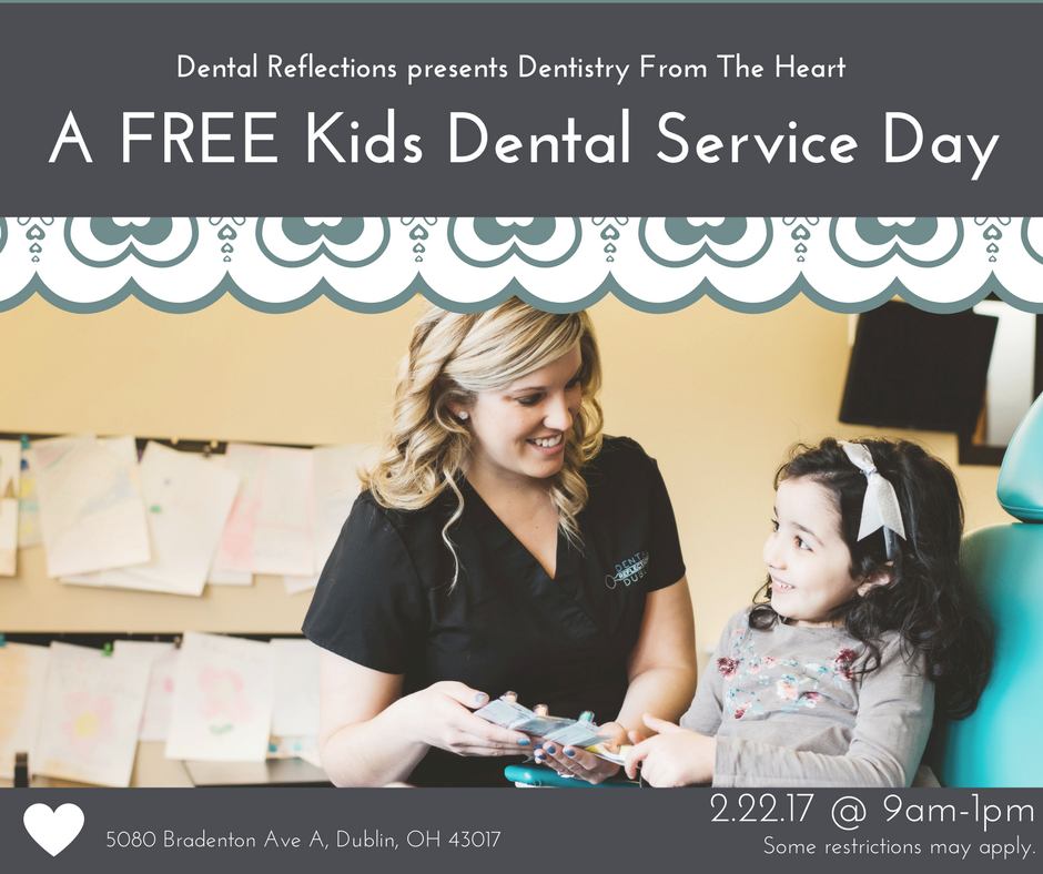 Dental Reflections is Celebrating National Children's Dental Health Month