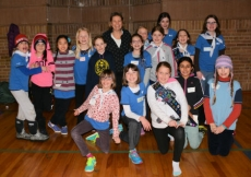Judith talks 'Forestry' with 163rd Toronto Girl Guides