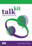 Talkit Resource Pack - complete resource for teachers