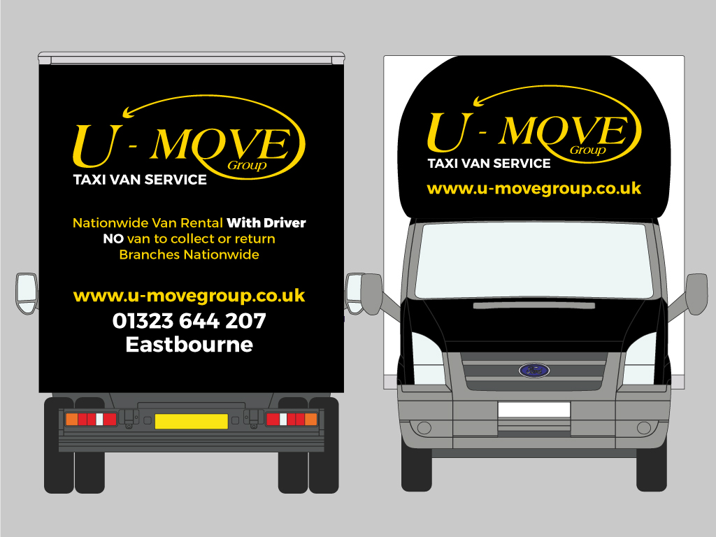 photo of u move van helping out