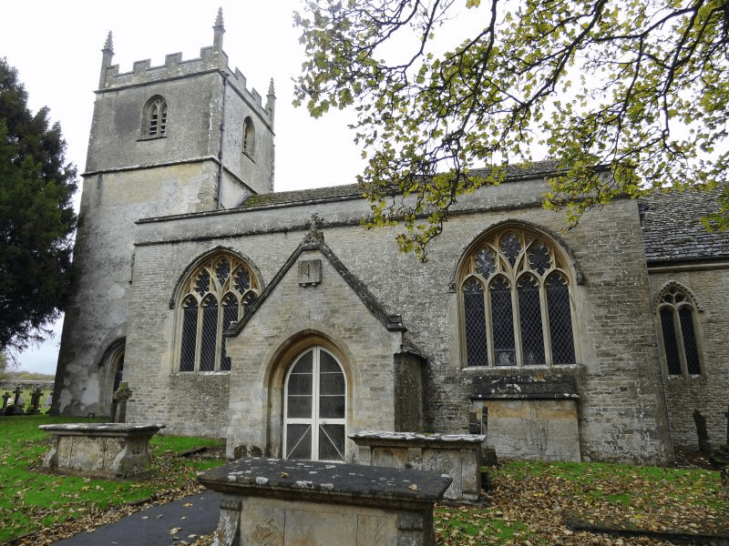 Sy Mary's Church in Beverston