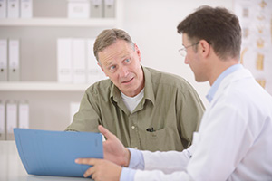 Patient Discussing Issues with Doctor