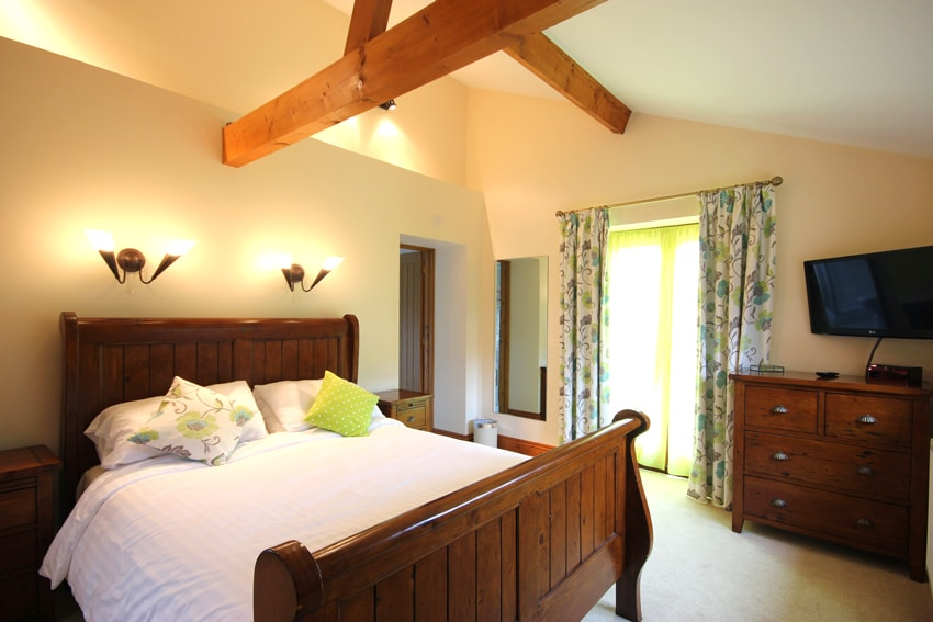 Double room in Malthouse Holiday Cottage