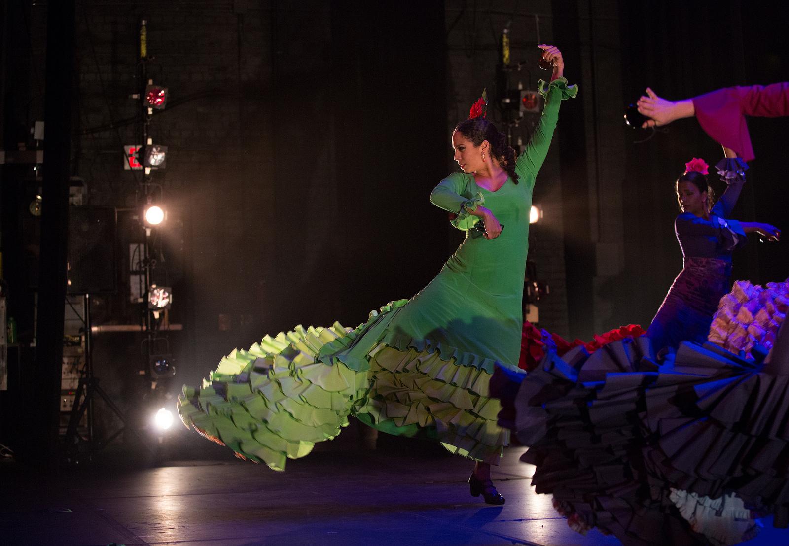 with Juan Siddi Flamenco Santa Fe dancing fandangos