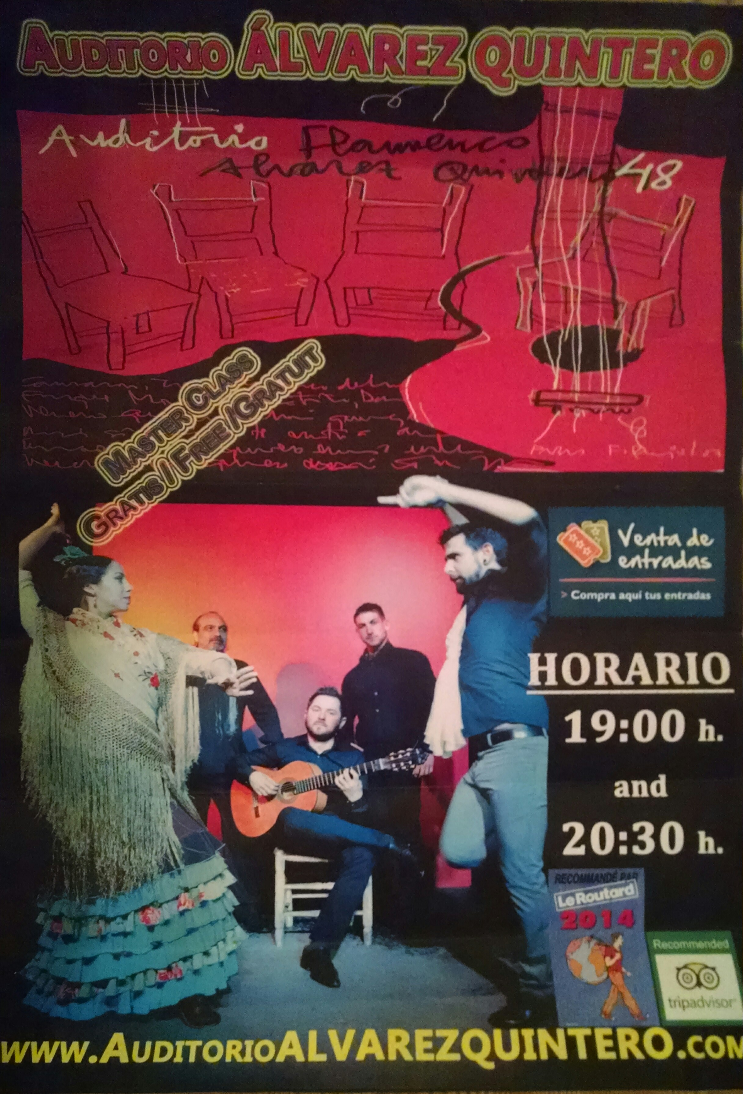 Auditorio Alvarez Quintero Poster