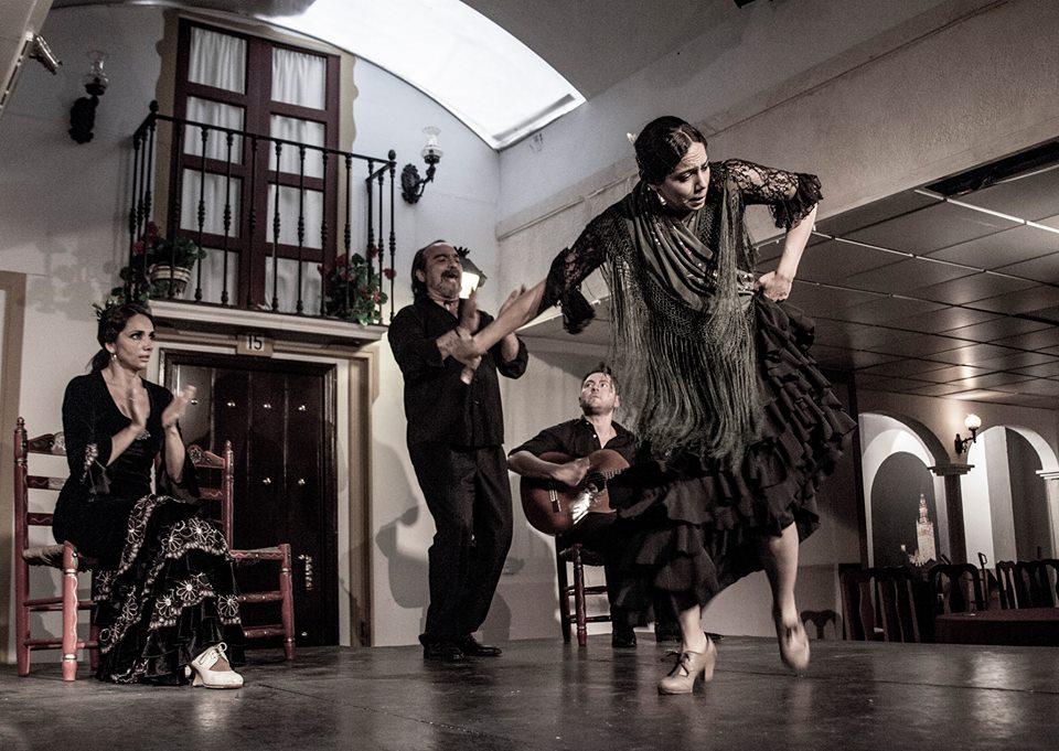 Sala Sentir Flamenco, with Manuela Rios, El Maera, and Jose Antonio Acevedo, Seville Spain 2013