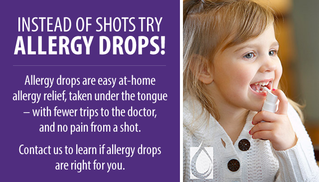 Allergy Drops, Allergy Relief