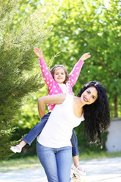 Allergy relief, Happy Mom, Child