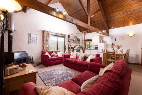 Mill Wheel holiday cottage in combe martin