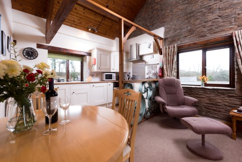 Upper mill holiday cottage in combe martin