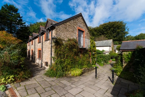 Byre holiday cottage in combe martin