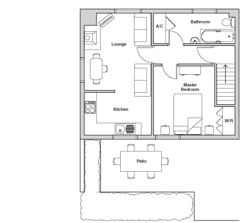 Upper mill floorplan