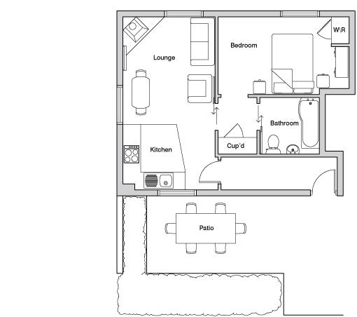 Lower mill floor plan