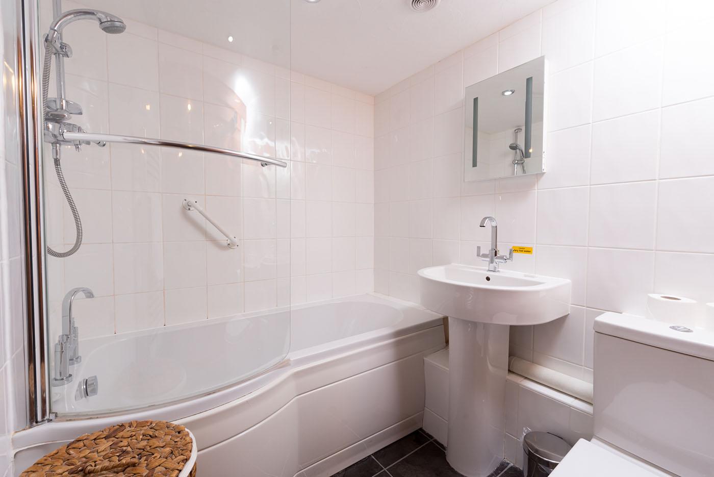 Lower mill bathroom