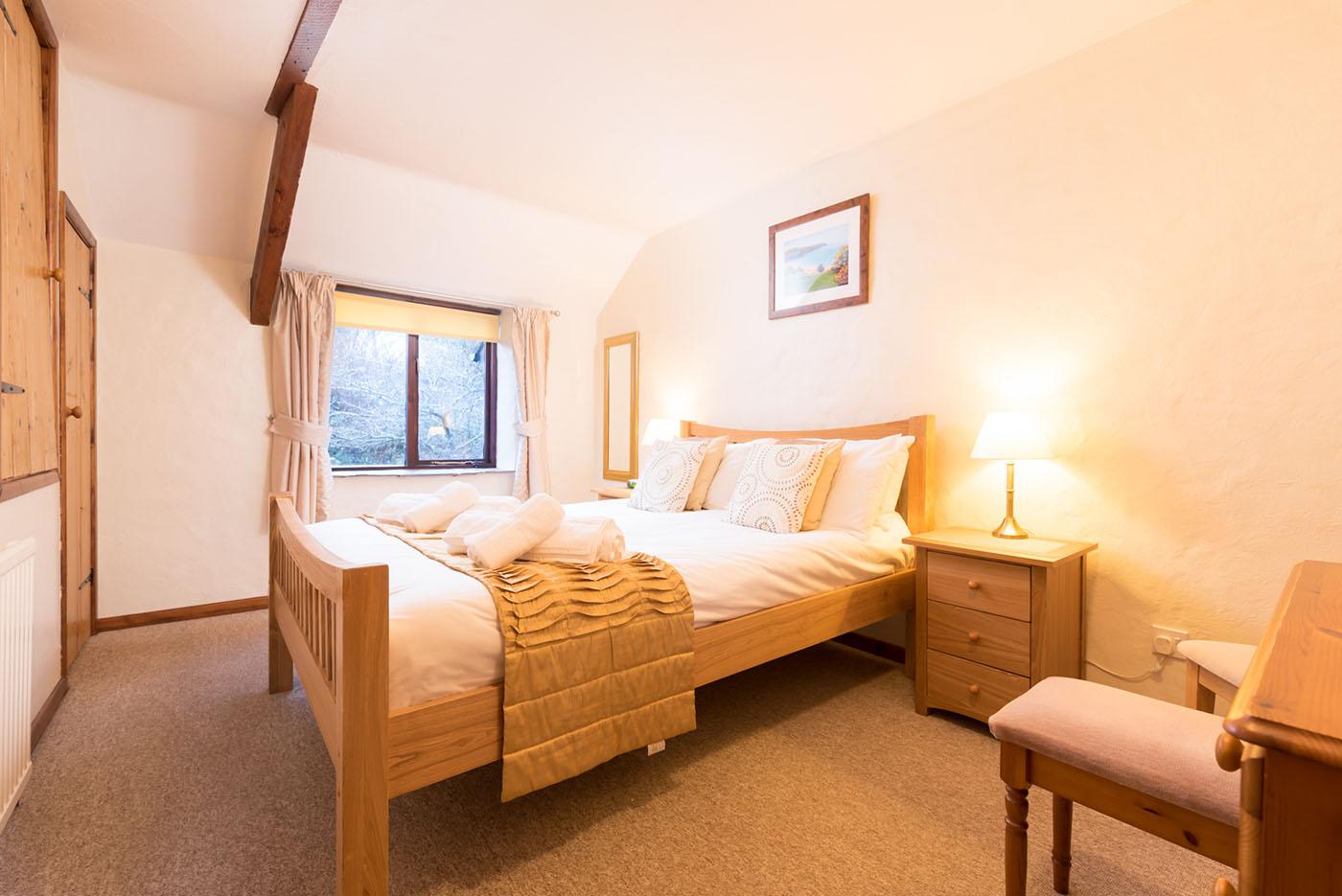 Hayloft bedroom