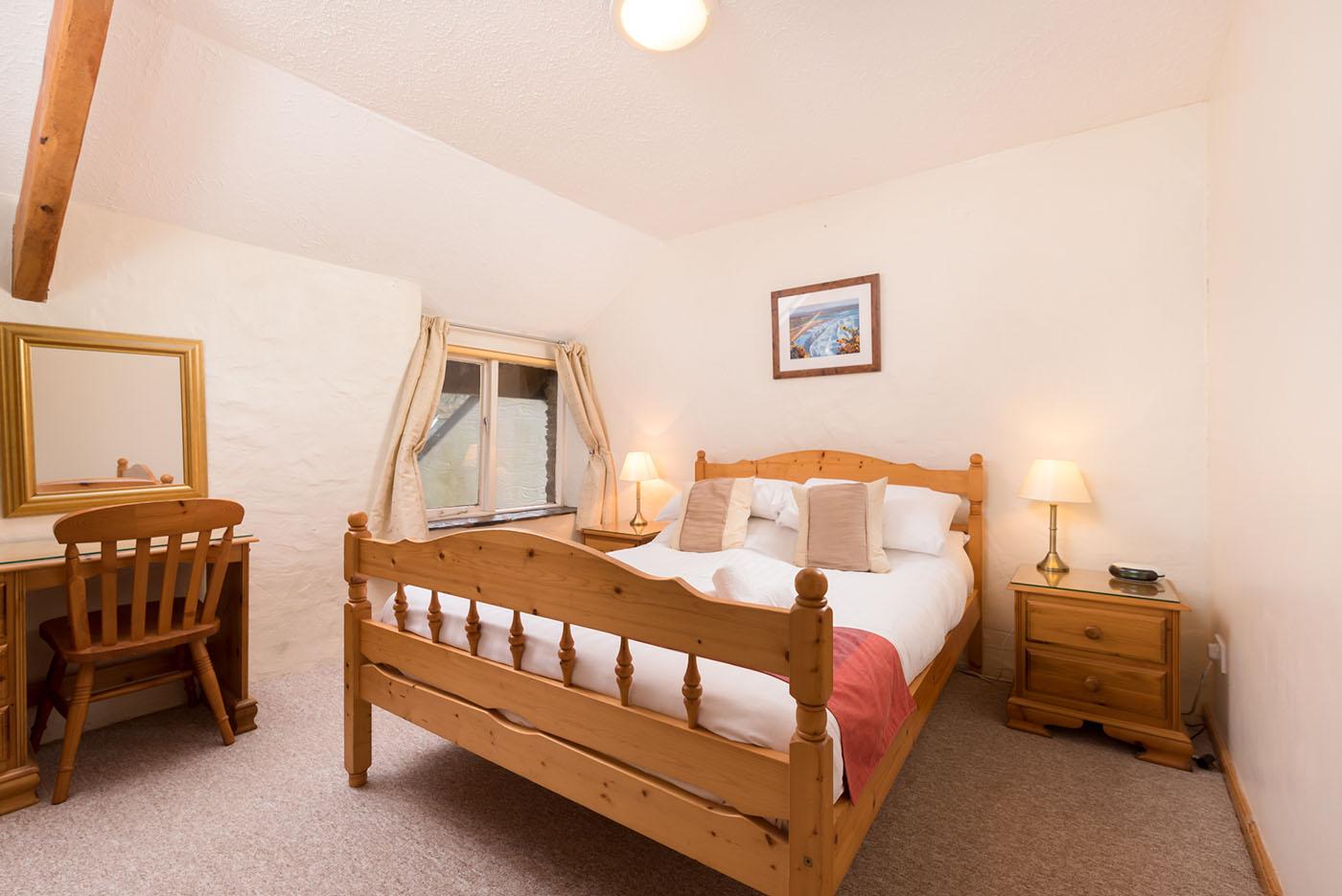 Granary master bedroom