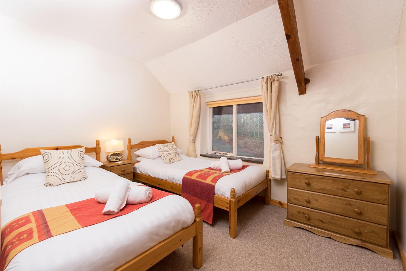 Granary twin bedroom