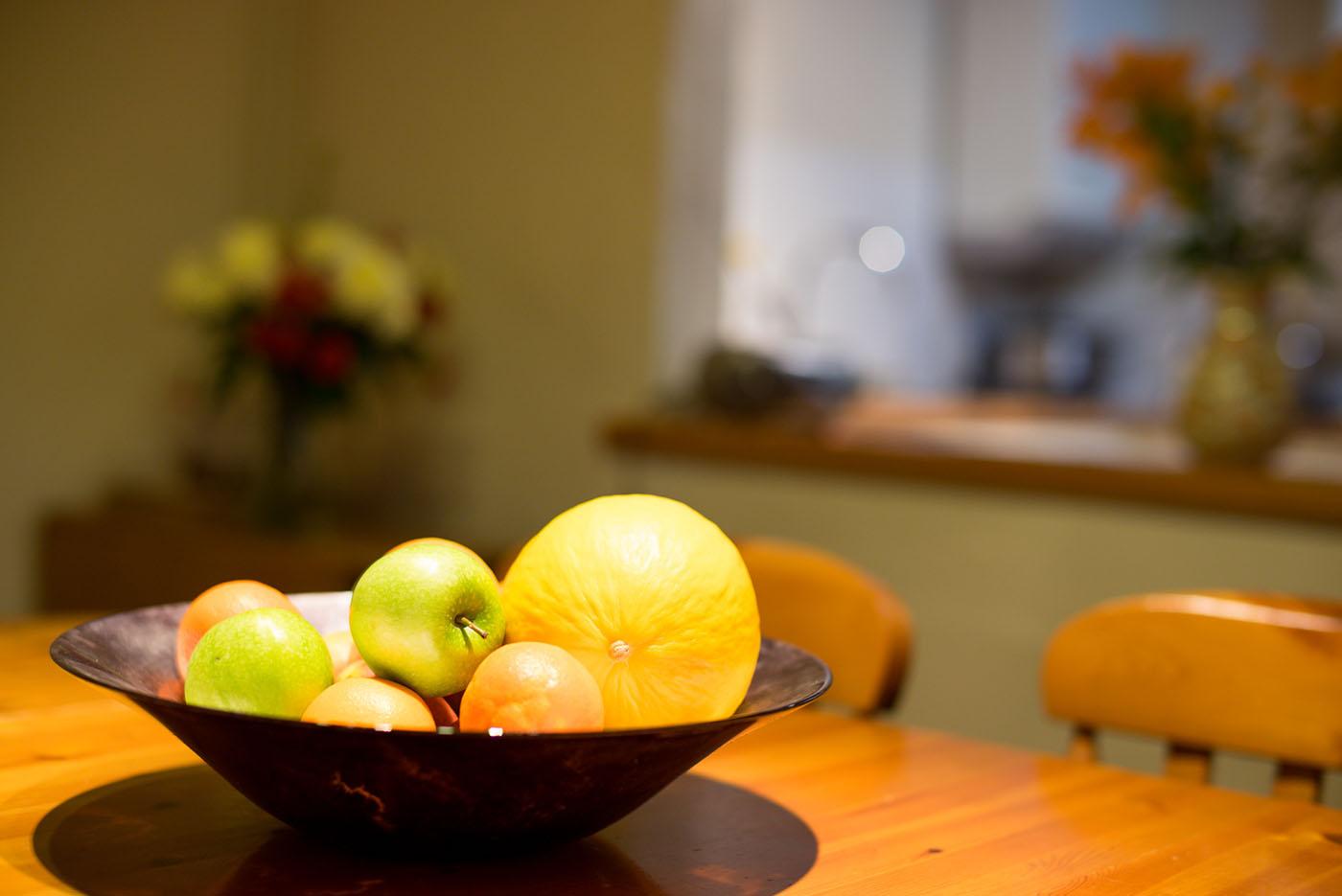 Granary bowl of fruit