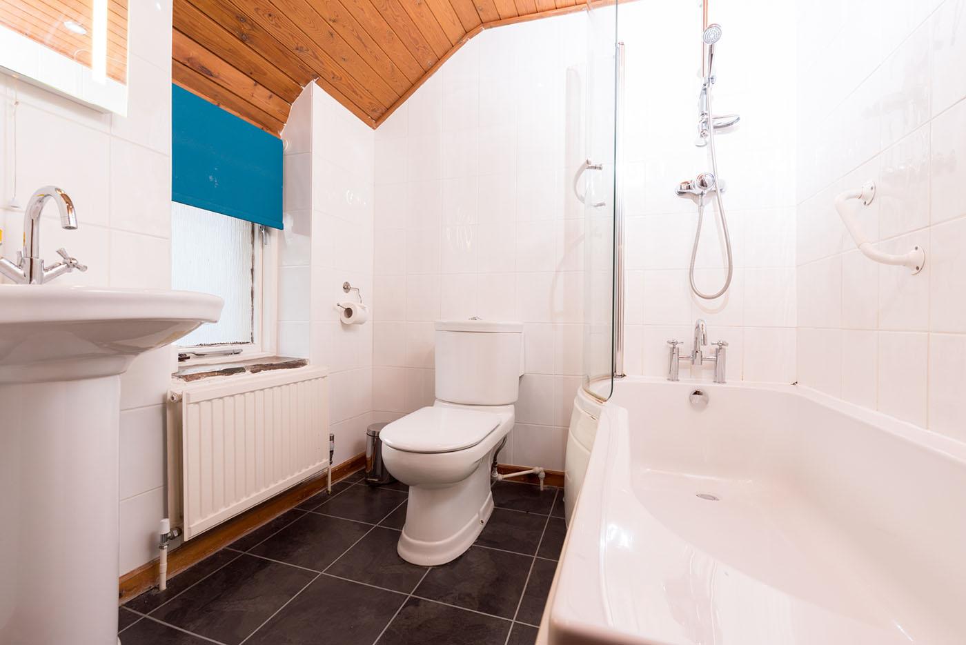 Stable bathroom