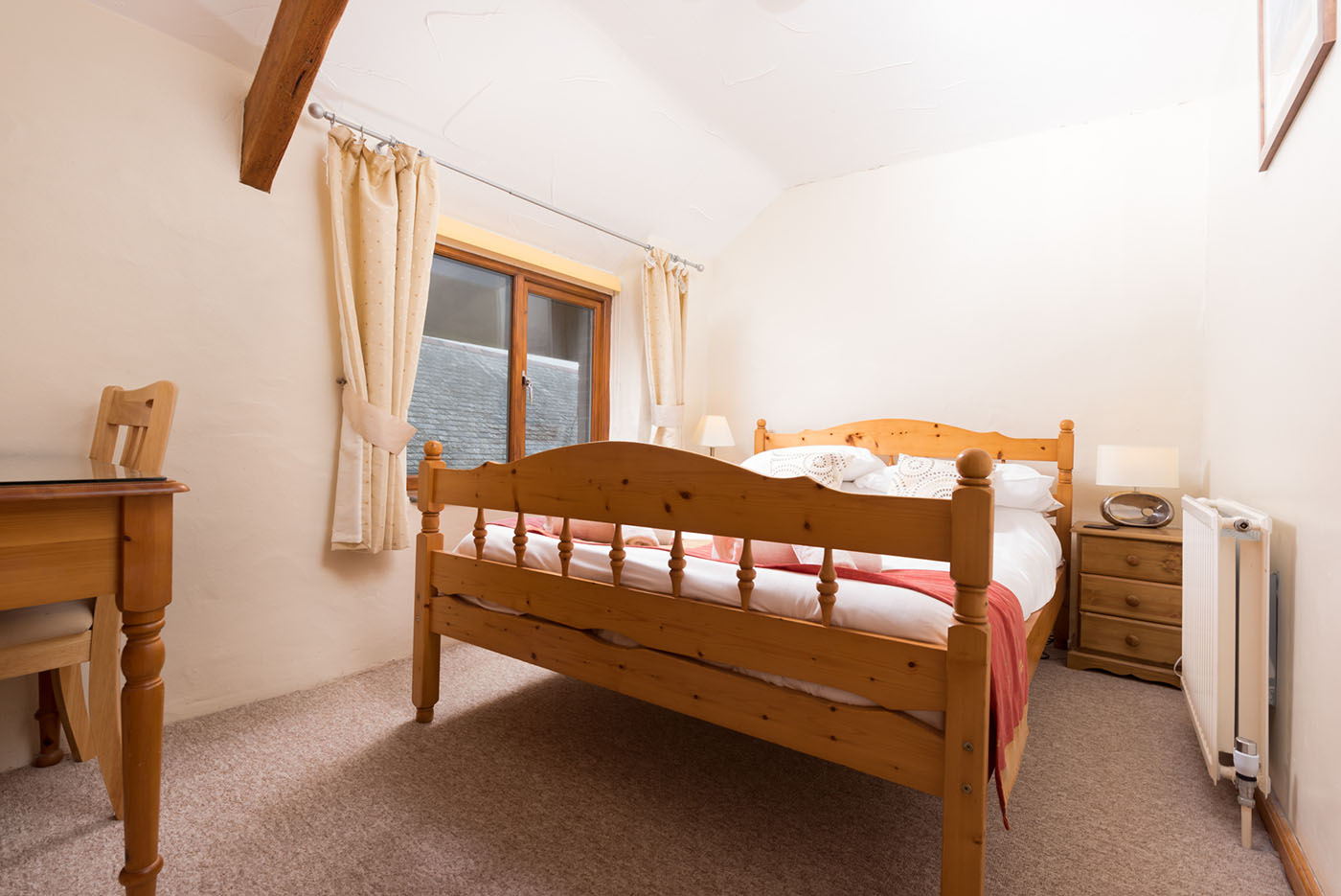 Stable master bedroom