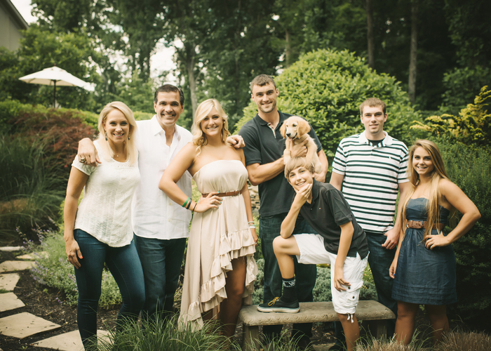 Photo of Dr. Mark Sutor and his family